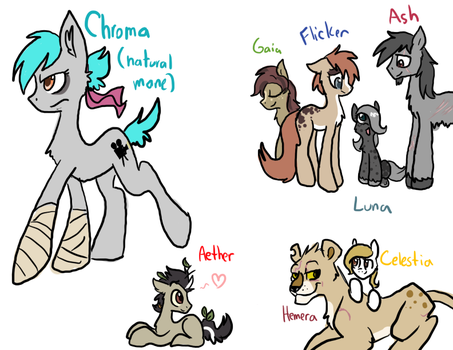 Chroma and the goddesses by ive-moved-bitches