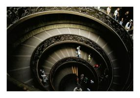 Spiral Escalator by aquapell