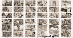 Storyboard 'arresting clete' by alien-mat
