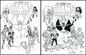 New Teen Titans Redux by BillWalko