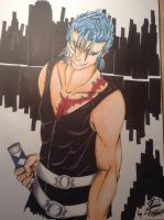 Grimmjow' s Back by Grimminette