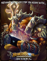Garrosh - Illustration for a contest by FEDsART