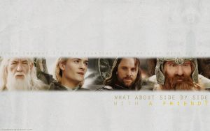 LOTR Wallpaper by anadoring