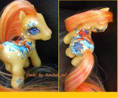 my little pony custom Daiki by Ambar_Jul by AmbarJulieta