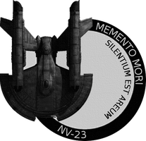 Memento Mori Mission Patch by kahn-iceay