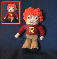 Amigurumi Ron Weasley by WireMySoul