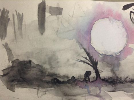 Experiment #3 - Watercolor by ProgressionD