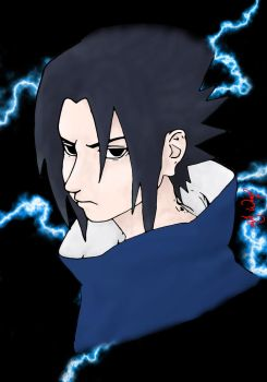 Sasuke Coloured by sketched1