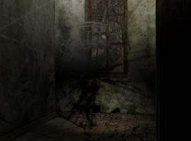 abandoned asylum entrance 0245 by Ecathe