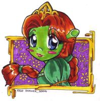 Chibi Ogress by KeyshaKitty