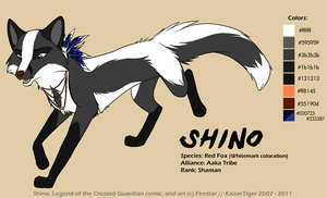 Shino -ref- by KaiserTiger