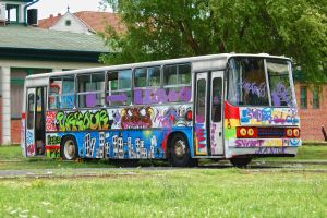 Damaged Ikarus 260 by Seth890603