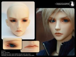 Luts Cane makeup by scargeear