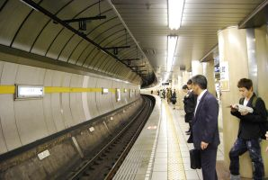 Subway in Tokyo by Silky-Tomtom