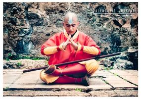 Aang cosplay by FCartoon