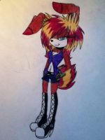 johnnys new look by X-RedFox-X