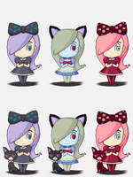 Gabrielle's Ghostly Groove + Recolours by Z80shota
