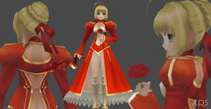 FATE/Extra Saber xps only by Saskeni