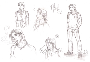 Mitchell Dever Character Sheet by ChocolateIsForever
