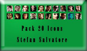 New Stefan Icons by angiezinha