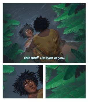 He lives in you - Lion King by SephyStabbity