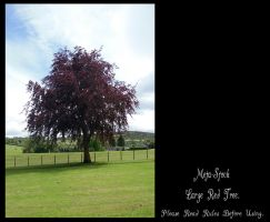 Large Red Tree Stock by Meta-Stock