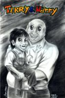 Terry and Harry_Caricatures by Lightwolf-of-GOD