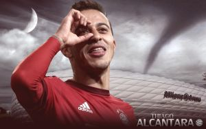 Thiago Alcantara Wallpaper 2015-16 by ChrisRamos4