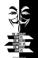 Anonymous, Join us. by ZefsDead