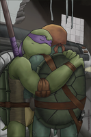 TMNT SAINW - 'Be Safe' by peppermint001