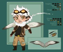 Seagull Pilot - Adoptable [CLOSED] by SillySinz