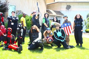ColossalCon 2014 - Marvel Photoshoot 10 by VideoGameStupid