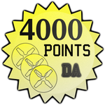 4000 Points by TheRedCrown