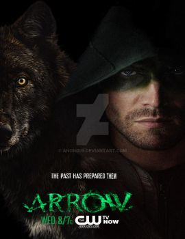 Arrow Fanart 0.5 by Anon099