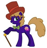 MLP FIM Willy Wonka Wilder by kaoshoneybun