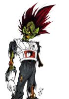 Zombie Vegeta by bigbabyretard