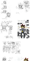 Sketchdump 2 (YGO) by Humming-Fly