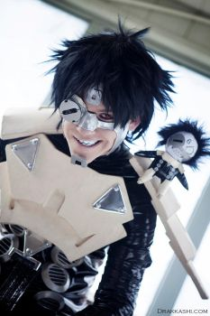 Cosplay Photoshoot - Sechs: Battle Angel Alita (3) by Drakkashi