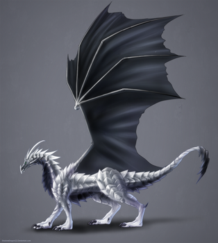 Eclipse Dragon Commission by ShadowDragon22