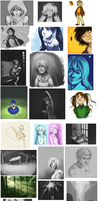 Sketchdump: Nov 2011 to May 2012 by trainingartist