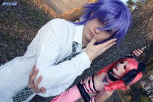 See the walking dead around me by Ginga-Bishounen