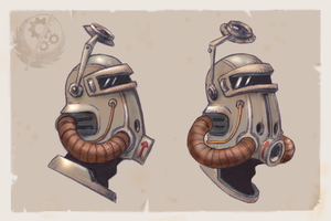 A Brotherhood Helmet Concept by Relentless666