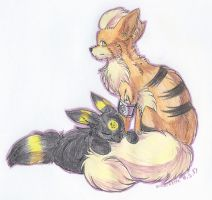 CE: I sleep on your tail by Erleuchtete