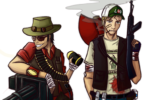 FFK: TF-2 and L4D fandoms by Snegiry