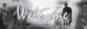 Welcome by KarenSweet4