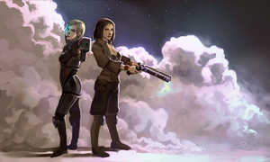 Two Badass Ladies by Salacia-of-Vanadiel