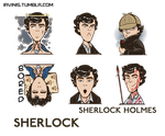 Sherlock smiles by IrvinIS