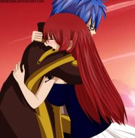 Erza and Jellal - Fairy Tail by xBebiiAnn