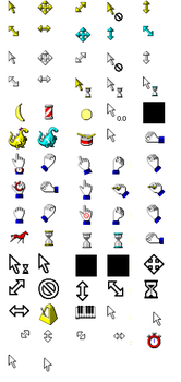 Windows XP Cursors by crlcolunga
