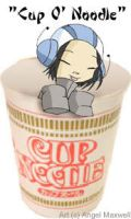 Cup O Noodle by angel-maxwell